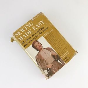 Sewing Made Easy Vintage Dressmaking Book 50s